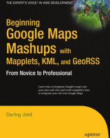 Cover of Beginning Google Maps Mashups
